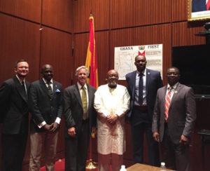 Ibrahim Salih visit Ghana embassy