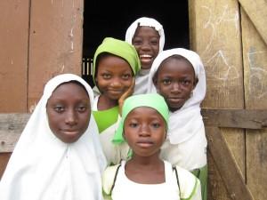 Girls in Aboabo, Kumasi, Ghana
